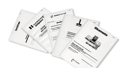 Technical manuals - Brother, Hardinge, Sodick, Okuma, Okamoto, Camtek, Mitsubishi, Star, Traub, You Ji